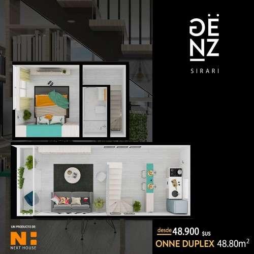 Departamento en pre-venta onne duplex en edificio genz sirari149053046