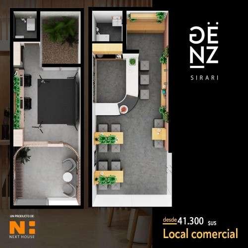 Departamento en pre-venta onne duplex en edificio genz sirari304519710