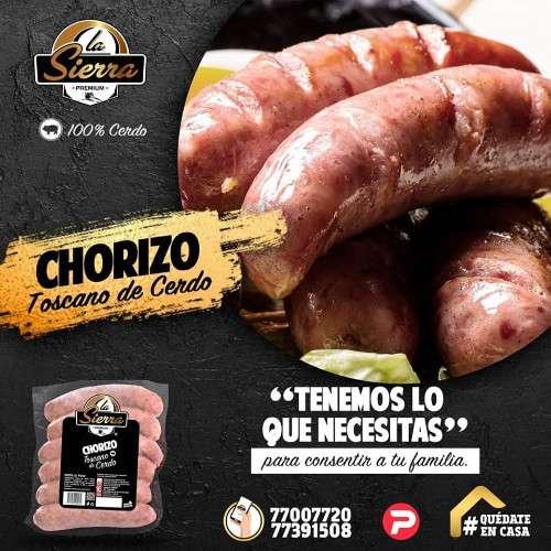delicioso chorizo toscano 139506558