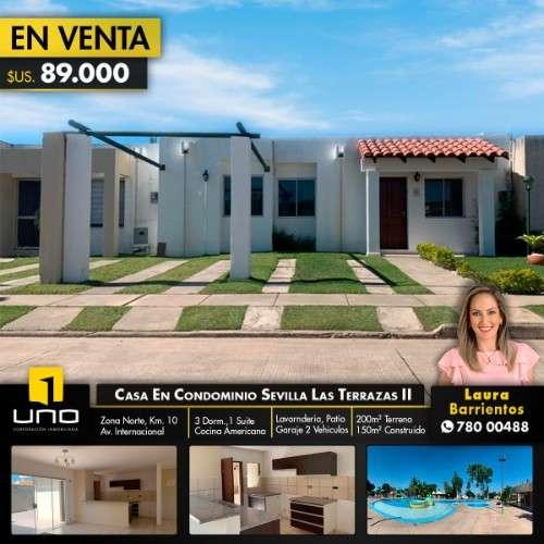 Casa en venta condominio sevilla las terrazas ii1907927464