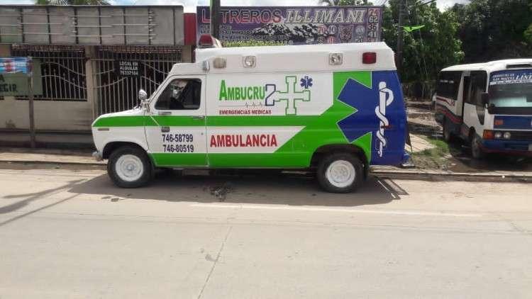 Vendo ambulancia completa ford 82545018567