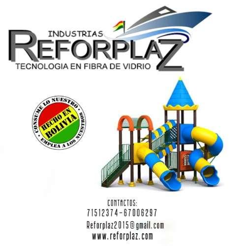 Realizamos toboganes para agua y parques infantiles 926379241
