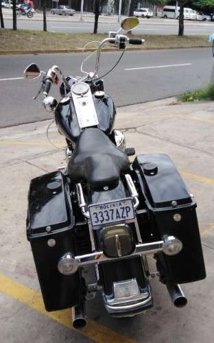 Vendo o permuto expectacular harley davidson road king police año 200580163508