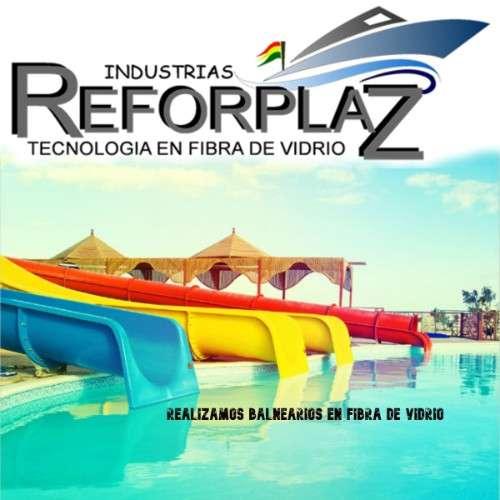 Ofrecemos balneários, parques acuaticos echo con fibra de vidrio y polietinelo600911906