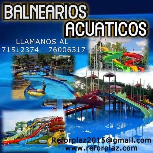 Ofrecemos  toboganes, obras monumentales, balnearios todo a base de fibra de vidrio547355534
