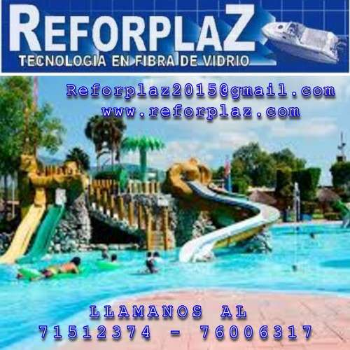 Elaboramos baniario, toboganes, baños y duchas, piscinas y barcos2037012090