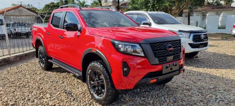 Impecable nissan frontier mod.2022 full imp. nibol1947266829
