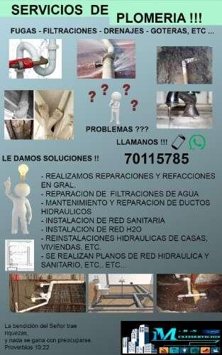 Servicios de plomeria !!!  701157851502361182