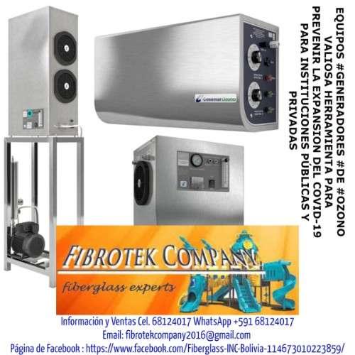 Constructores de generadores de ozono para desinfeccion de ambientes 228823823
