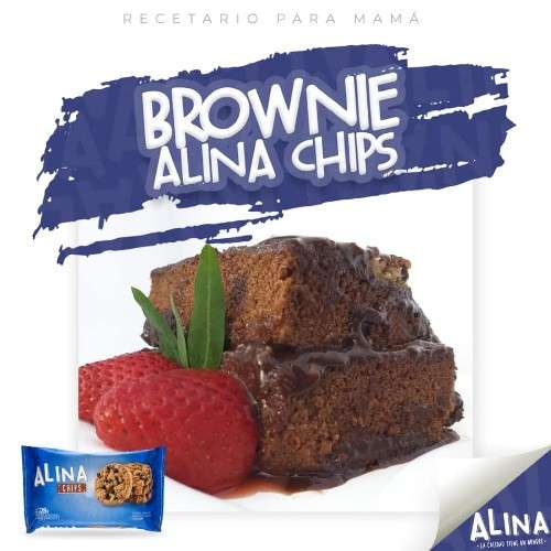 Sorprende a mamá en su día con este delicioso brownie alina chips!! 33763010