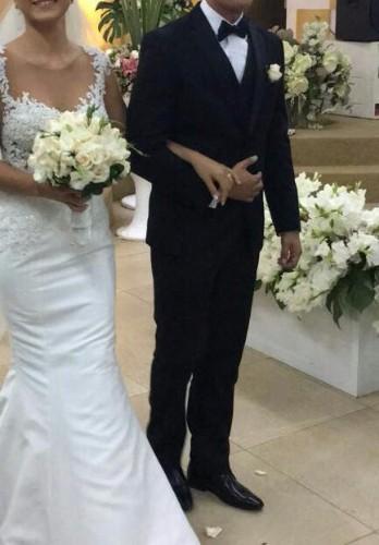 Vendo hermoso vestido de novia (único en bolivia)1057855581