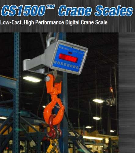 Balanza para grúa - capacidad 10 ton. intercomp512606549