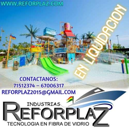 Se realizan balnearios, parques acuáticos, botes y tanques industriales.1193395736
