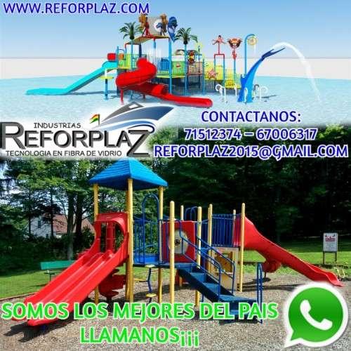 Fabricamos parques infantiles, balnearios, tanques industriales, etc.1623814266