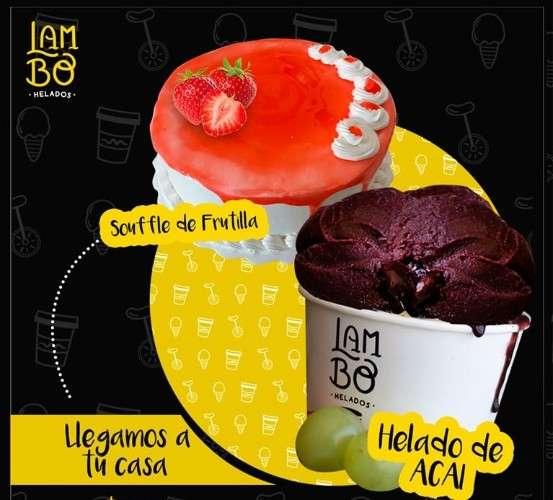 Ya puedes pedir ahora tus #heladosartesanales favoritos en estos días de cuarentenay nuestras nuevas tortas artesanales: souffle de frutilla  souffle de chocolate  torta de mocca152624713