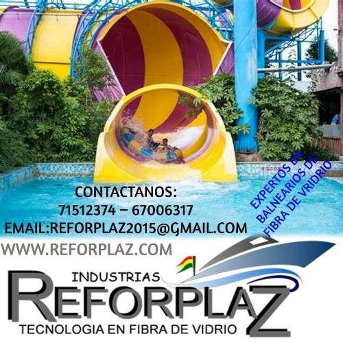 Fabricamos parques infantiles, balnearios, tanques industriales, etc.1305002482