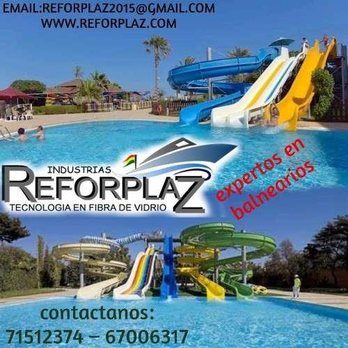 Se realizan balnearios, parques acuáticos, botes y tanques industriales.1391635861
