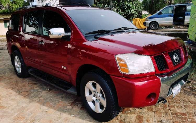 Nissan armada 2007 4x4 automática tres filas 15500$698029446