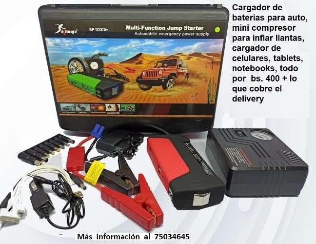Jumper reactivador de bateria y compresor de aire343805767
