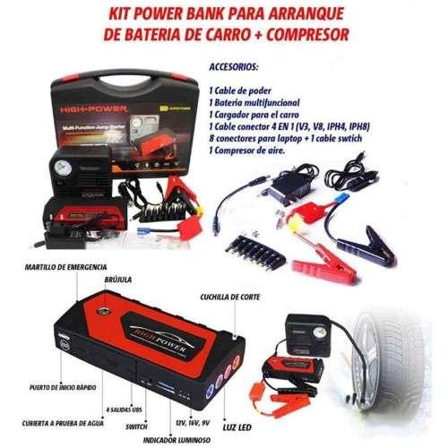 Jumper reactivador de bateria y compresor de aire991380953