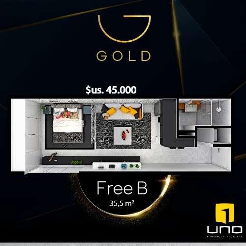Preventa de departamentos en edificio gold equipetrol232785406