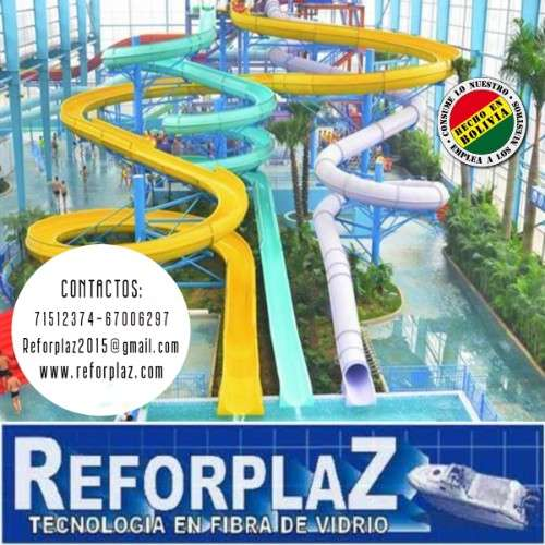 Construimos toboganes para piscinas y balnearios33442161