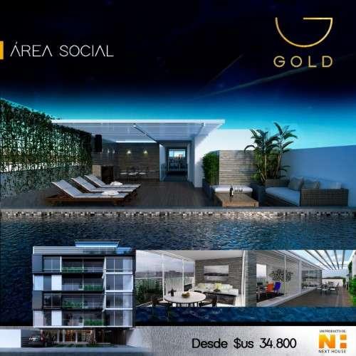 Departamento mono ambiente en pre-venta, edificio gold1287510611