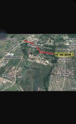Lote en venta zona norte valle sanchez 2913370189
