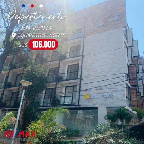 Departamento a estrenar en venta condominio one soul equipetrol4078115