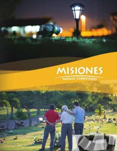 de ocación  por cambio de recidencia vendo lote en cementerio las misiones norte en 2750 $1073172866