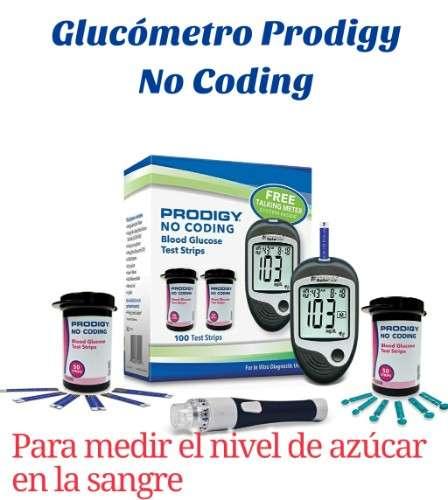 Glucómetro prodigy2138928735