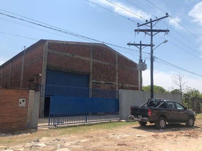 Galpon con oficinas en parque industrial250874307