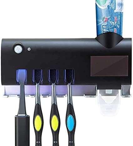 Soporte para cepillos de dientes con esterilizador uv 1165143671
