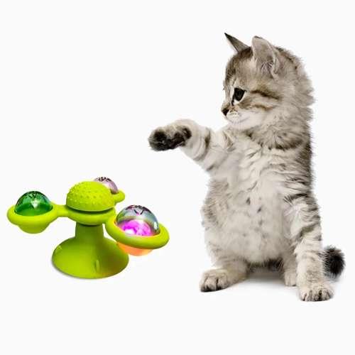 Juguete para gatos molino de viento 2018908841