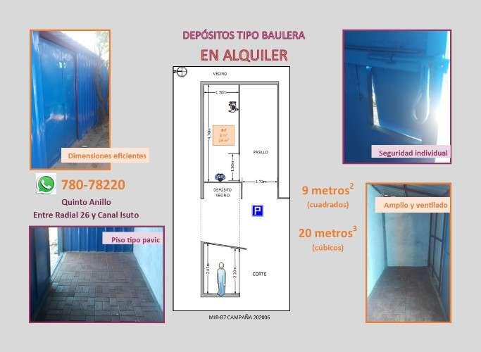 Bs. 500 pequeños depósitos para almacenamiento1871721990