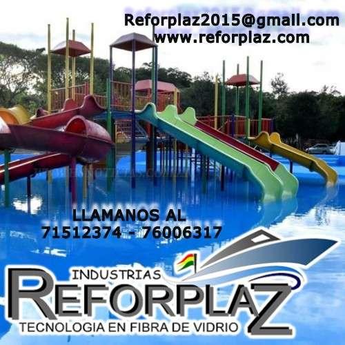 Expertos en fibra de vidrio: balnearios, toboganes y parques infantiles1177996487