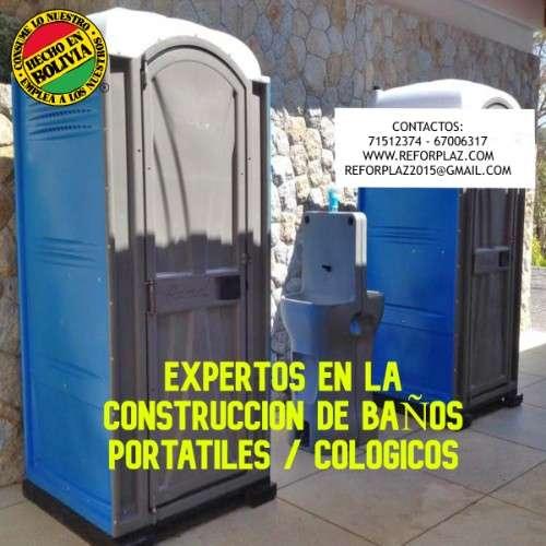 Expertos en la fabricacion de baños portatiles con fibra de vidrio en bolivia356613355