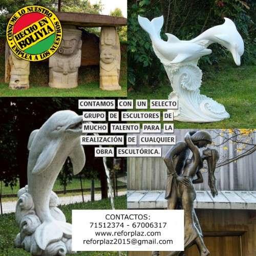 Expertos en el diseño y fabricacion de obras monumentales al gusto del cliente934771419
