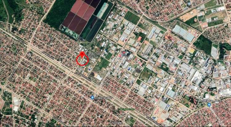 Terreno con infraestructura completa en el parque industrial1303087487