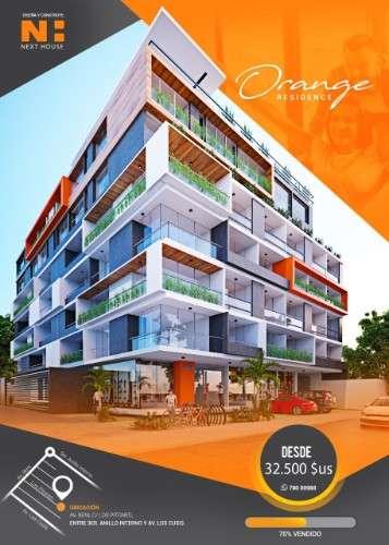 Departamento en pre venta de 2 dormitorio, condominio orange108586668
