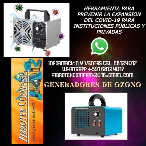 Fabricantes de generadores de ozono para desinfeccion para el covid-191343833380