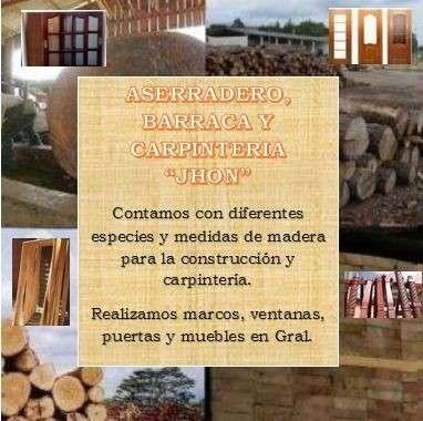 Aserradero, barraca y carpinteria jhon1390187689