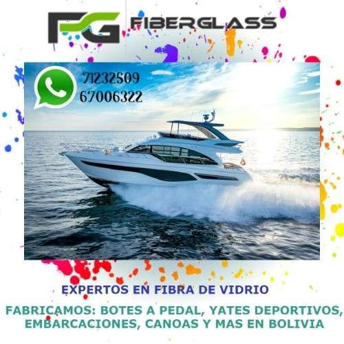 Constructora de productos de fibra de vidrio; baños portátiles, botes, yates, recipientes, esculturas y demás102374622