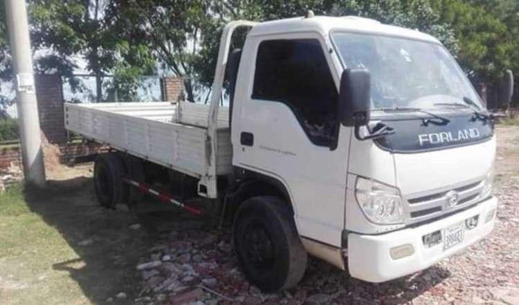 Camión forland año 2015 capacidad 5 toneladas motor 4200cc turbo diesel de tienda 459981044