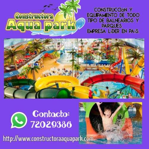 Construcción y equipamiento de todo tipo de balnearios y parques.1093732529