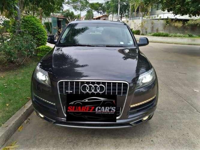 Audi q7 2014 sacada de tienda único dueño 1160886806