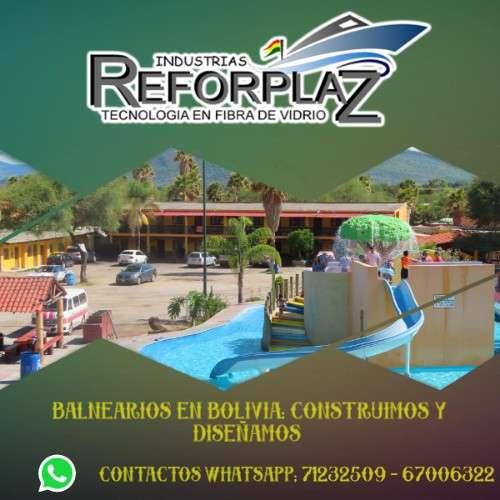 Fabricante de los mejores balnearios en bolivia reforplaz años de experiencia895697019