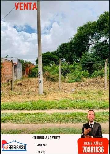 De ocasión! terreno a la venta detrás de edificio de sub-alcaldía en barrio virgen de lujan, av. los chacos204488185