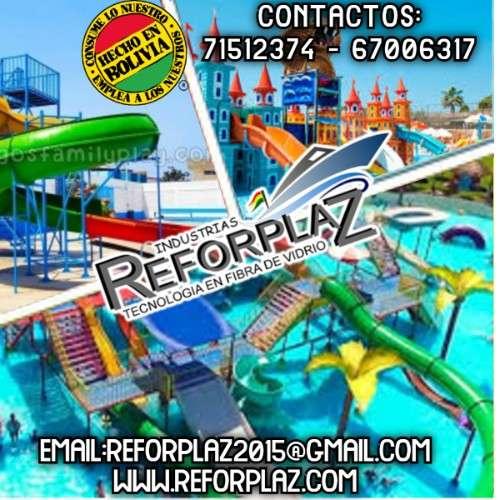 distintos modelos y diseños de parques infantiles, toboganes balnearios acuaticos y embarcaciones344348397