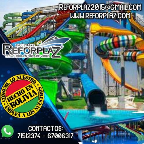 modelo exclusivos de balnearios, toboganes, piscinas y parques infantiles1672216670